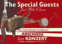 Flyer: The Special Guests – Abschiedskonzert (Vorn)