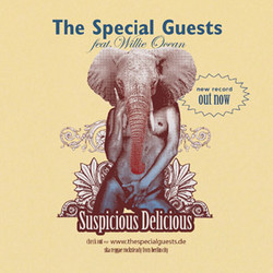 Aufkleber: The Special Guests - Suspicious Delicious